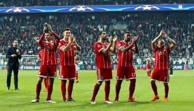 """بايرن ميونخ يطيح بـ""""بشكتاش"""" من ثمن نهائي دوري أبطال أوروبا"""