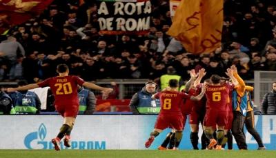 روما يقهر شاختار ويحجز مقعدا بدور الـ8 في دوري أبطال أوروبا
