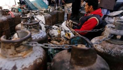 الحكومة الشرعية تتدخل لحل أزمة الغاز في محافظة إب الخاضعة لسيطرة الحوثيين
