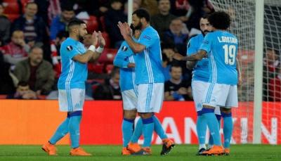مارسيليا يجدد فوزه على بيلباو ويعبر إلى ربع نهائي الدوري الأوروبي