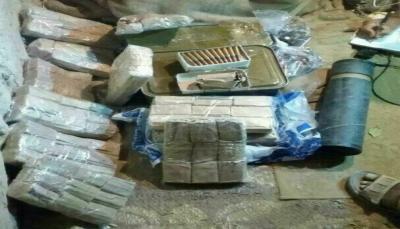 """أمن """"الجوف"""" يضبط شحنة أسلحة واجهزة اتصالات كانت في طريقها للحوثيين بـ""""صنعاء"""""""