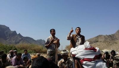 """شبوة: تشييع عدد من قتلى الجيش والمقاومة الذين سقطوا في معارك تحرير """"البيضاء"""""""