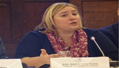 رئيسة بعثة الاتحاد الأوروبي: زيارتنا لصنعاء تهدف لتسريع التسوية السياسية