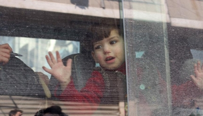 بدء إجلاء المدنيين ومقاتلي المعارضة السورية من حرستا