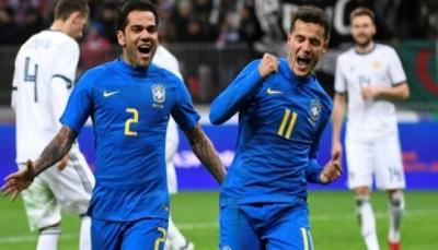 فوز كبير للبرازيل على روسيا في موسكو 3-صفر