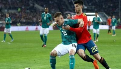 تعادل ايجابي بين ألمانيا وإسبانيا استعدادا لمونديال روسيا