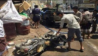 """مصدر لـ""""يمن شباب نت"""": قتلى وجرحى بانفجار عبوة ناسفة غربي """"تعز"""""""