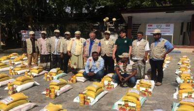 هيئة الإغاثة التركية تقدم مساعدات إنسانية لـ 30 ألف يمني