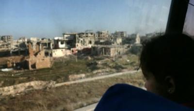"""من الغوطة الشرقية إلى إدلب.. """"رحلة إجلاء شاقة وساعات انتظار ثقيلة"""""""