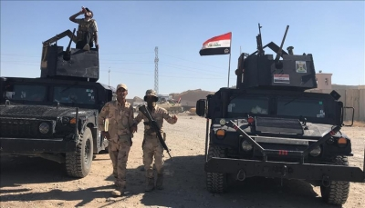 """الجيش العراقي يطلق عملية عسكرية لملاحقة """"داعش"""" بصحراء الأنبار"""