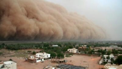 عاصفة رملية تضرب الخرطوم والغاء رحلات جوية