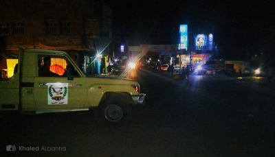 بدء الانتشار الأمني بشوارع تعز لضبط الاختلالات الأمنية (صور)