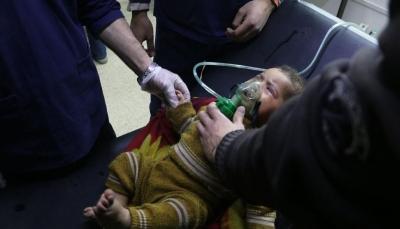 مقتل 40 مدنيا على الأقل بهجوم كيميائي للنظام على الغوطة الشرقية