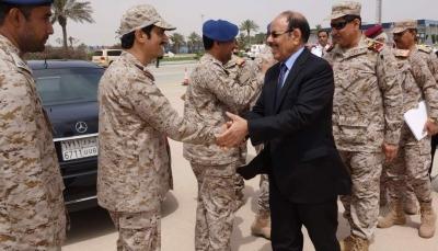 """نائب الرئيس يصل """"الظهران"""" السعودية لحضور فعاليات تمرين """"درع الخليج المشترك 1"""""""