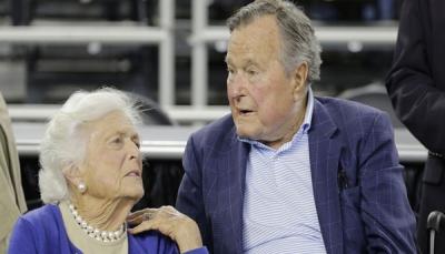 وفاة زوجة الرئيس الأسبق جورج بوش الأب