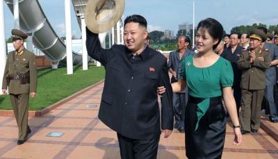 تعرف على اللقب الجديد لزوجة زعيم كوريا الشمالية ودلالاته