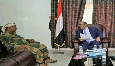 وزير الداخلية يؤكد تقديم كل الدعم اللازم لإدارة أمن الضالع للقيام بواجبها