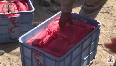 أمن مأرب يعلن ضبط 100 كيلو من الحشيش كانت في طريقها إلى مليشيا الحوثي