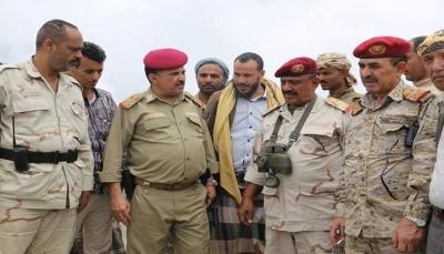 نائب رئيس هيئة الأركان: العمليات العسكرية مستمرة حتى تحرير كل شبر من مدينة تعز