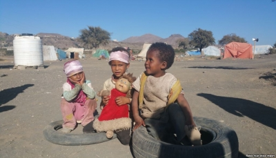 النازحون في ضروان اليمنية.. من جحيم الحرب إلى مأساة المخيم