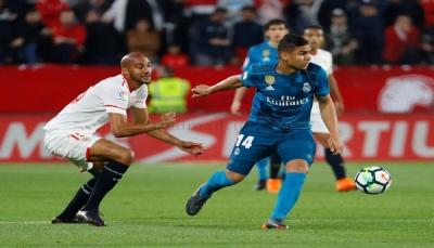 ريال مدريد يسقط بثلاثية ضد إشبيلية في الدوري الإسباني