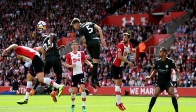 مانشستر سيتي أول فريق يحقق 100 نقطة بموسم واحد في الدوري الانجليزي