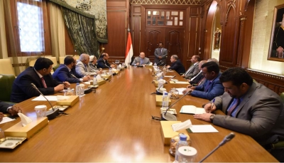 بعد إعلان انتهاء أزمة سقطرى.. الرئيس يجتمع بهيئة مستشاريه للإشادة بجهود السعودية