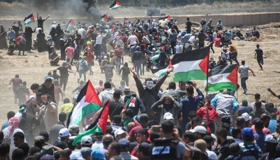 108 شهداء و12 ألف إصابة في غزة منذ بداية مسيرات العودة