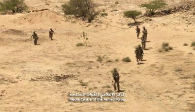 """الجيش يعلن مصرع 15 حوثيا وأسر أربعة بينهم قيادي في مديرية """"باقم"""""""