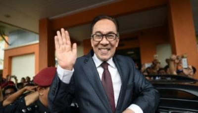 إطلاق سراح زعيم المعارضة السابق في ماليزيا انور إبراهيم