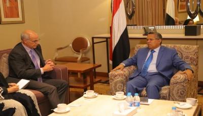 رئيس الحكومة اليمنية لسفير بريطانيا: الضغط على إيران سيجبر وكيلها الحوثي للقبول بالسلام