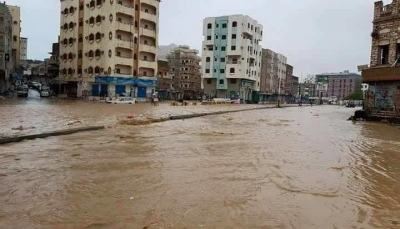 """إعصار """"ساجار"""" يتسبب في ضياع 20 قارب صيد في أبين"""