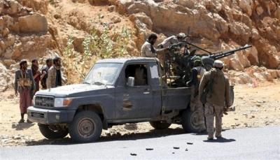 """الجيش يستكمل تحرير """"جبل العود"""" في مقبنة غرب مدينة تعز"""