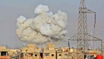 اول عملية اجلاء لعناصر من تنظيم داعش من جنوب دمشق السورية
