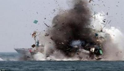 التحالف يعلن تدمير زورقين مفخخين أطلقهما الحوثيون جنوب البحر الأحمر