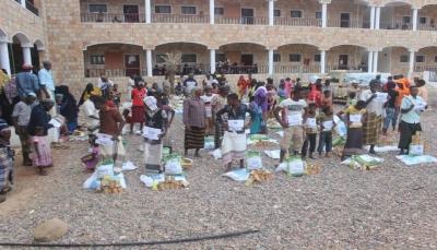 """شبكة النماء YDN تنفذ حملة التدخلات الإغاثية للمتضررين من اعصار ماكونو بـ""""سقطرى"""""""