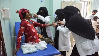 الصحة العالمية: لايزال الوضع الصحي في اليمن يسير نحو الانهيار الوشيك
