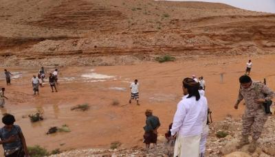 أربع حالات وفاة نتيجة السيول الجارفة في محافظة المهرة