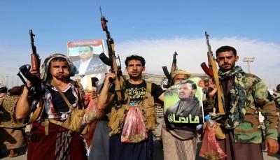 """إب.. الحوثيون يعززون من تواجدهم العسكري في قمة جبل """"التعكر"""" بجبلة"""
