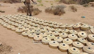 حجة: الجيش يتقدم في حيران وينزع 600 لغم زرعتها ميلشيات الحوثي