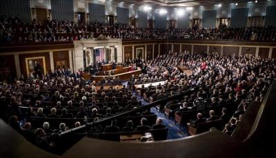 مشروع قرار بالكونغرس الأمريكي يحظر رفع العقوبات المفروضة عن طهران