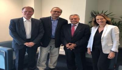 الميتمي يناقش مع البنك الدولي جهود دعم الاقتصاد اليمني