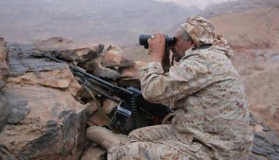 """صنعاء: مقتل وأسر عدد من عناصر المليشيات إثر محاولة التسلل لمواقع الجيش بـ""""نهم"""""""