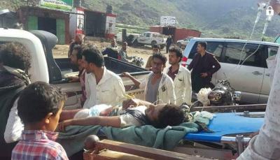 الضالع: إصابة مدنيين اثنين إثر استهداف مليشيات الحوثي لإحدى القرى غرب مريس