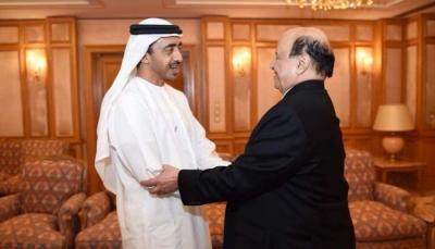 قيادي في حزب الإصلاح يعلق على زيارة الرئيس هادي إلى الإمارات