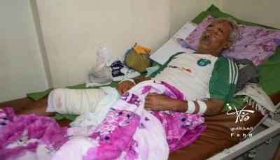 إصابة خمسة مدنيين بنيران مليشيا الحوثي شرقي تعز