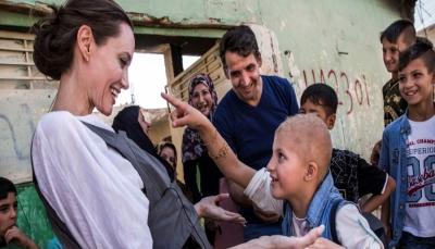 أنجيلينا جولي من الموصل: هذا أسوأ دمار شاهدته في كل سنوات عملي