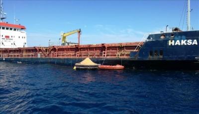 إجلاء طاقم سفينة شحن تركية بعد غرقها قبالة كرواتيا