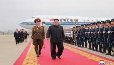 الرئيس الصيني يستقبل الزعيم الكوري الشمالي في بكين