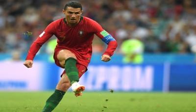 خمسة أرقام لرونالدو بعد هدفه في شباك المغرب بالمونديال